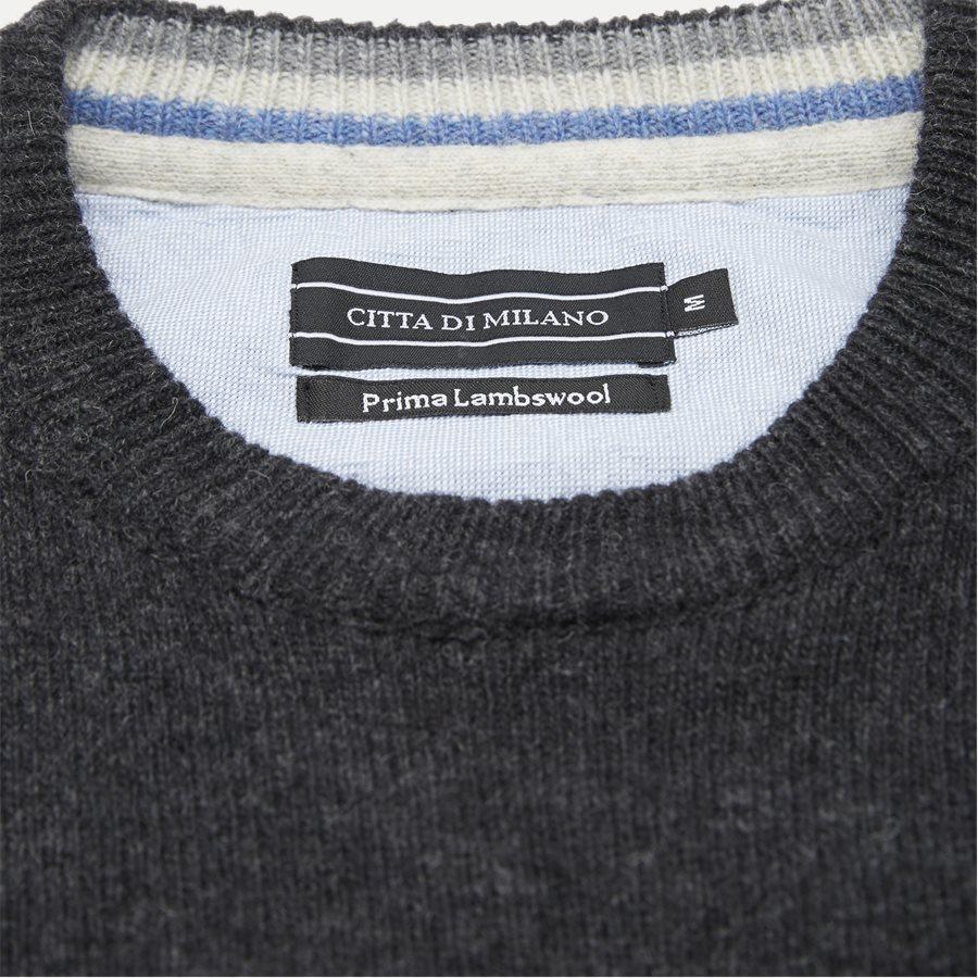 TRIESTE - Knitwear - Regular - CHARCOAL MEL. - 4